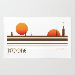 Visit Tatooine T-Shirt Rug