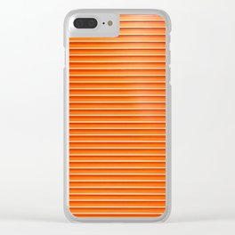 Rollin' Doors Clear iPhone Case