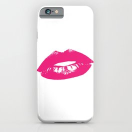 Lips Kiss Lipstick iPhone Case
