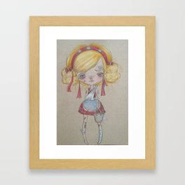 jill Framed Art Print