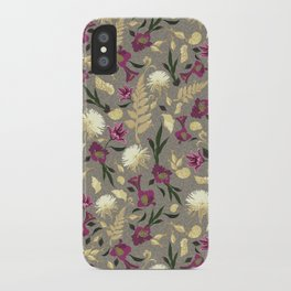 Flowers & Sea Shells iPhone Case