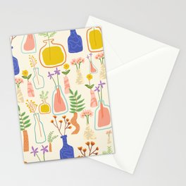 Garden As Though You Will Live Forever || #plants #pattern Stationery Cards
