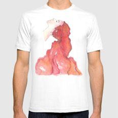red head Mens Fitted Tee White MEDIUM