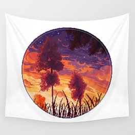 Sunset aesthetic Wall Tapestry