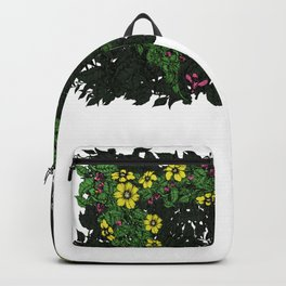 Flowers Excavator Backpack