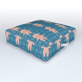 Kewpie pattern Outdoor Floor Cushion