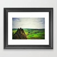 plateau Framed Art Print