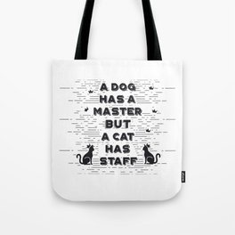 Dog And Cat Gift Tote Bag