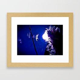 Float away. Framed Art Print