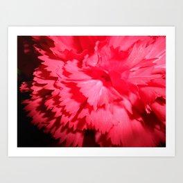 Glow in the Depths Art Print