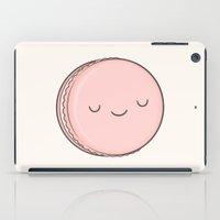 macaron iPad Cases featuring Macaron by kim vervuurt
