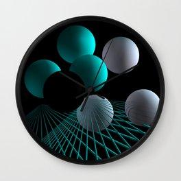 converging lines -2- Wall Clock