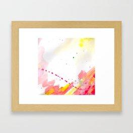 Courage (No Words) Framed Art Print