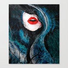Crimson Canvas Print