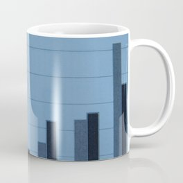 Scientific charts, cardiograms and mathematical calculations Coffee Mug
