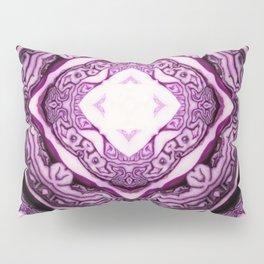 VeggieMandala Red Cabbage 3 Pillow Sham