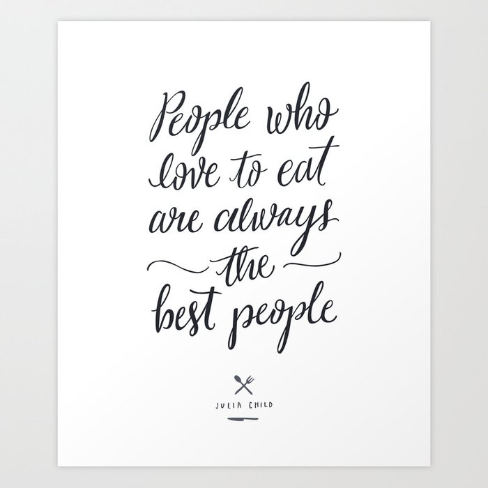 The Best People // Light Art Print