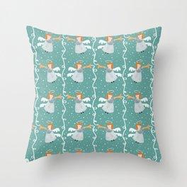 Pattern #69 - Joyful angels Throw Pillow