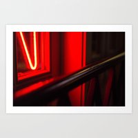 Neon Sign Art Print