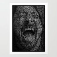 dave grohl Art Prints featuring Dave Grohl. Best Of You by Robotic Ewe