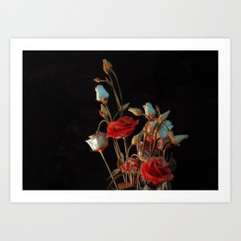 Manoeuvres in the Dark Art Print