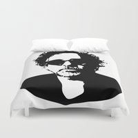 tim burton Duvet Covers featuring Tim by b & c