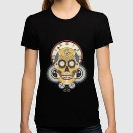 Clock Skull T-shirt