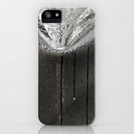 Silver Rain iPhone Case