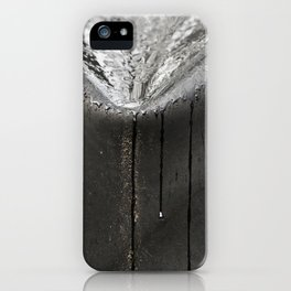 Silver Rain iPhone Case