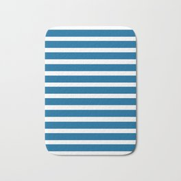Blue Lines Bath Mat