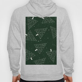 Christmas Trees Green Hoody