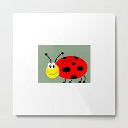 Bed Bug Metal Print