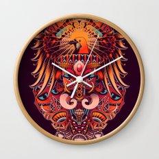 The Beauty of Papua Wall Clock