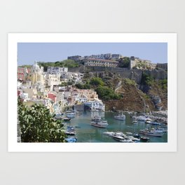 Procida Island, Italy Art Print