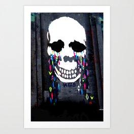 Crying Colors Art Print