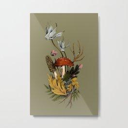 Autumnal Scene Metal Print