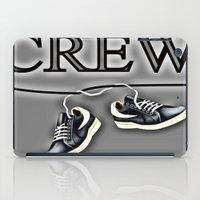 animal crew iPad Cases featuring Crew by Cs025