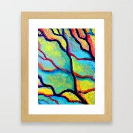 Painted Window 2 (*Koinonia*) Framed Art Print