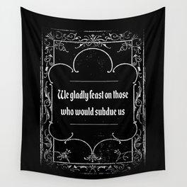 Addams Family Credo Wall Tapestry
