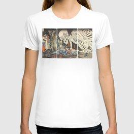 Takiyasha the Witch and the Skeleton Spectre T-shirt