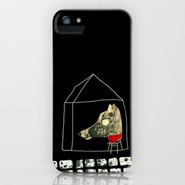 The seven little goats iPhone Case