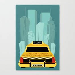 WizardOfOz in the NYC Canvas Print