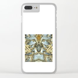 Natures Rock Monsters Clear iPhone Case