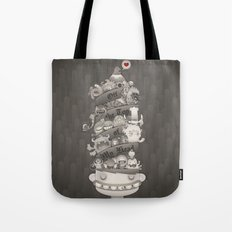 Off the Top of My Head Tote Bag