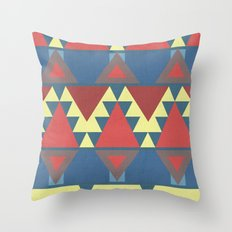 Art deco - Miami inspiration Throw Pillow