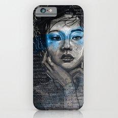 Portrait of A Sick Feeling iPhone 6s Slim Case