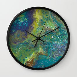 Time to Breathe Wall Clock