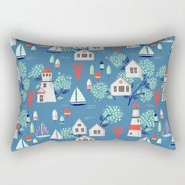 Nantucket Summer Rectangular Pillow