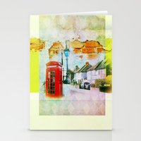 england Stationery Cards featuring England by Lora