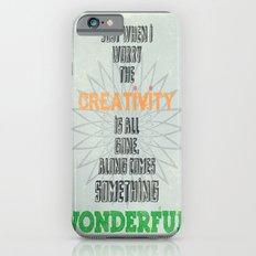 Something Wonderful Slim Case iPhone 6s